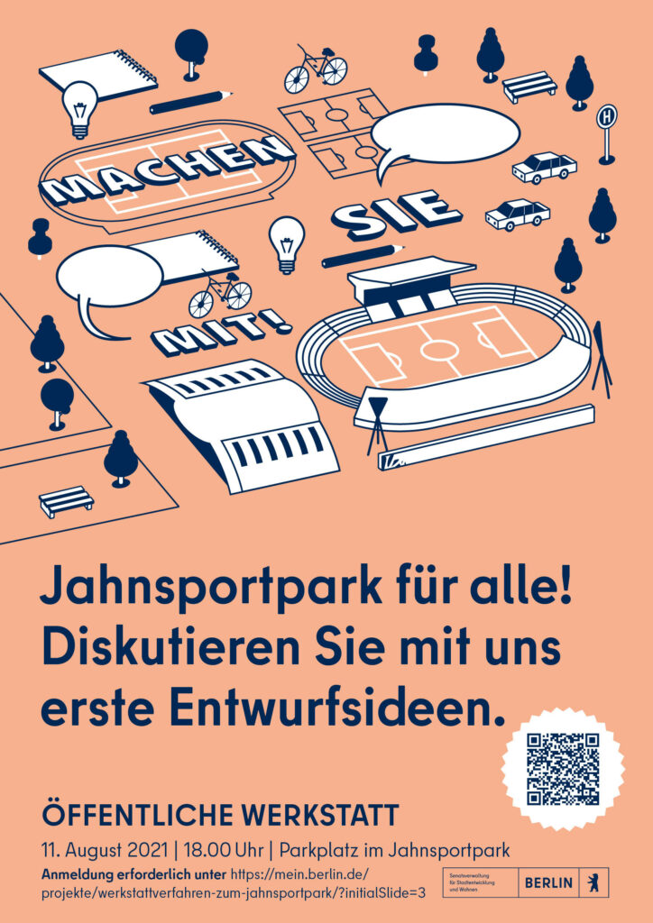 Plakat zur Bewerbung der 2. Werkstatt