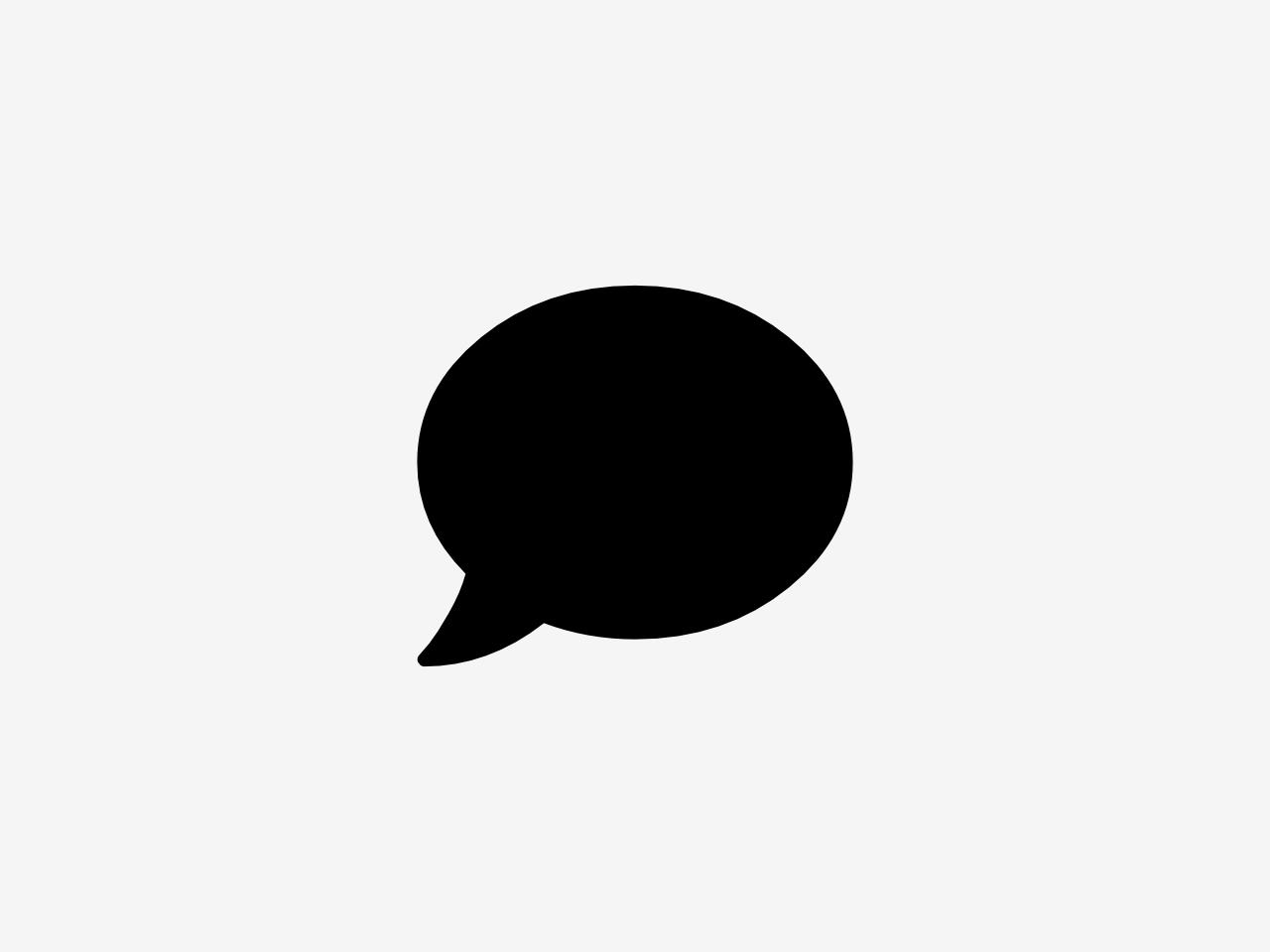 Bild zeigt ein Symbol für Kontakt. Das Symbol zeigt eine Sprechblase.